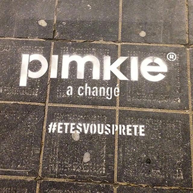Pimkie mise sur le clean tag pour sa campagne twitter