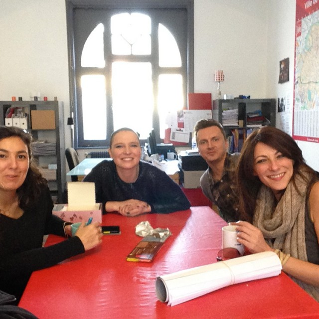 Anne Sila, finaliste de The Voice 2015, en visite chez C*RED