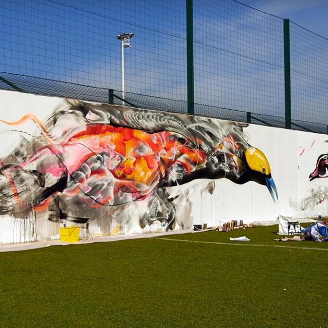 Le LOSC accueille une exposition de street art à Luchin !
