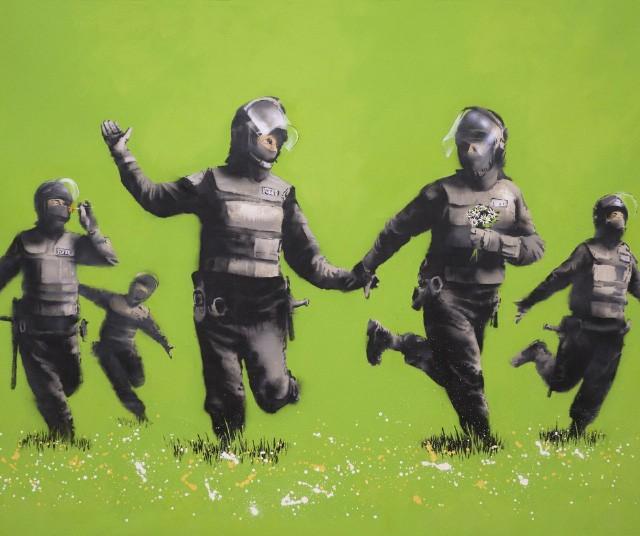Banksy est un maître absolu du guerilla !
