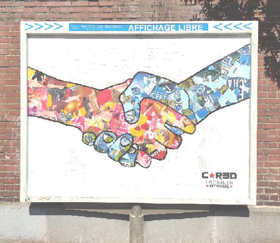 Campagne HOPE de C*RED… Mister G nous fait passer un message !
